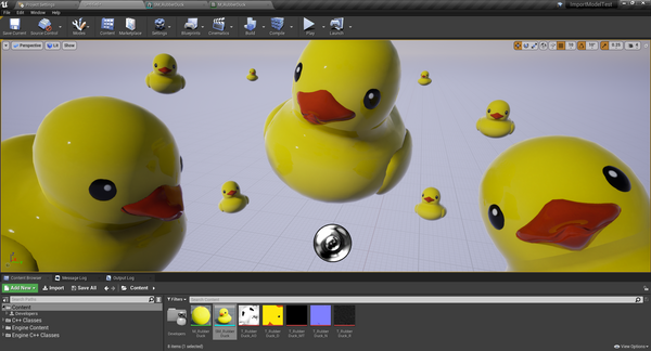 How to import problematic models in Unreal Engine 4