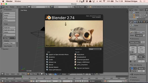 How to Install Blender 3D Animation Software